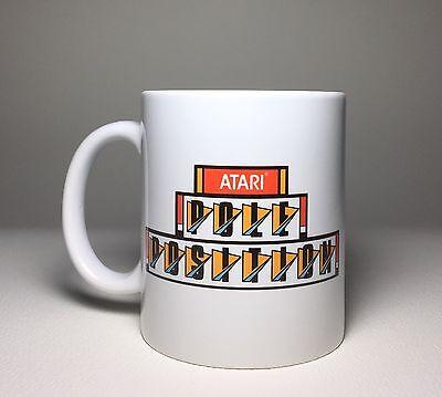 Pole Position Arcade Ceramic Coffee Cup Mug 11oz Atari NEW
