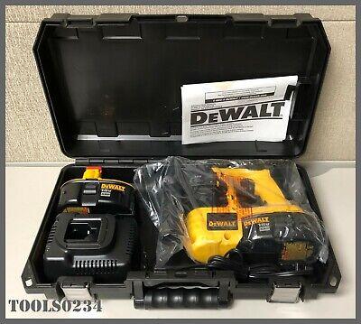 "DeWalt #DC212KA 18V Cordless Heavy-Duty 7/8"" SDS Hammerdrill Kit w/Case"