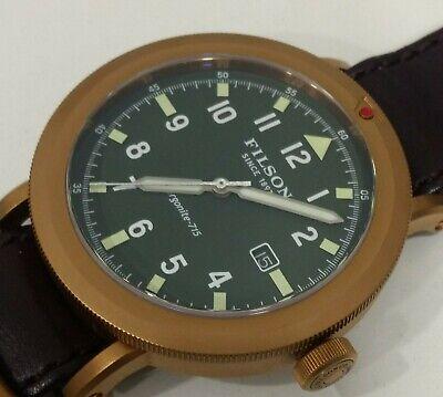 Shinola For Filson Scout Bronze Tone 45mm Mens Watch