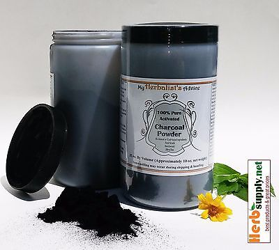 100% Pure Activated Charcoal Powder 10 oz Hardwood, Food Grade, Extra Fine