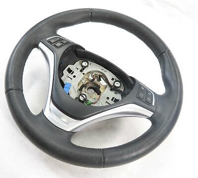 2013-2015 BMW X1 (E84) LEFT FRONT DRIVER SPORT STEERING WHEEL w/ SWITCHES