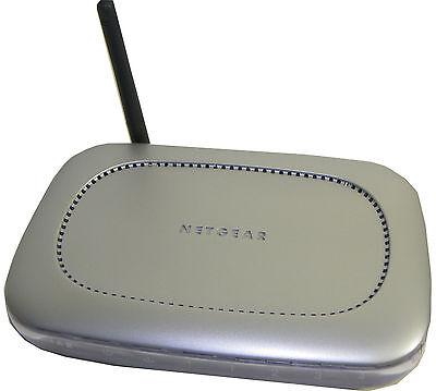 Netgear 108Mbps Wireless Firewall Router w 4-ports WGT624 Manufacturer refurbish