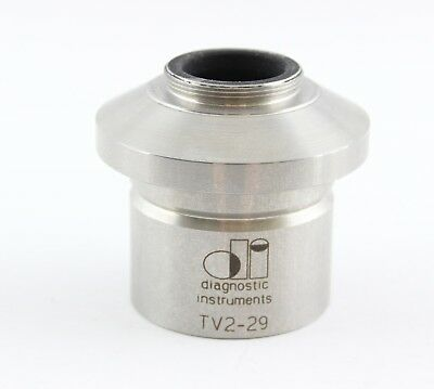 Diagnostic Instruments Tv2-29 C Mount Camera Microscope Adapter