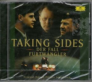TAKING SIDES-Der Fall-Movie Soundtrack CD-Furtwangler-Brand New-Still Sealed
