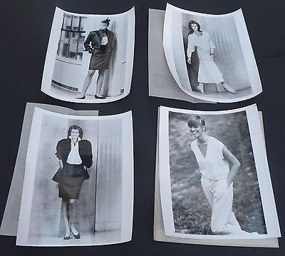Vtg original Perry Ellis 1986 ELLE MACPHERSON press supermodel fashion photos