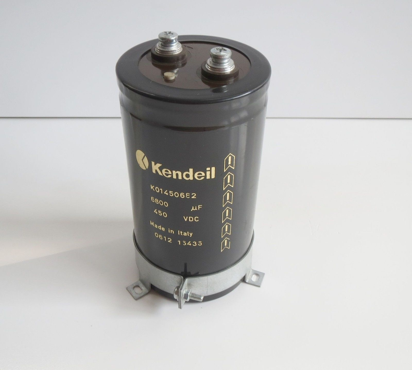 Electrolytic Capacitor Snap in 6800uf 100v 105 ° 35x50 KENDEIL Made in Italy