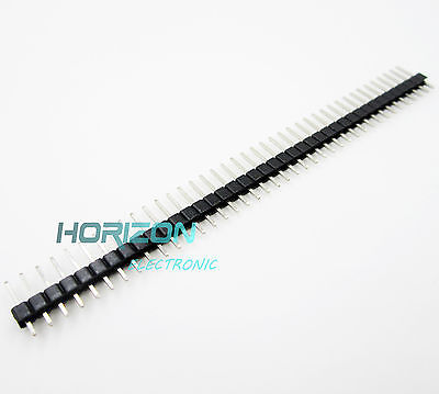 50pcs 40pin 2.54mm Single Row Straight Male Pin Header Strip For Pbc Ardunio Top