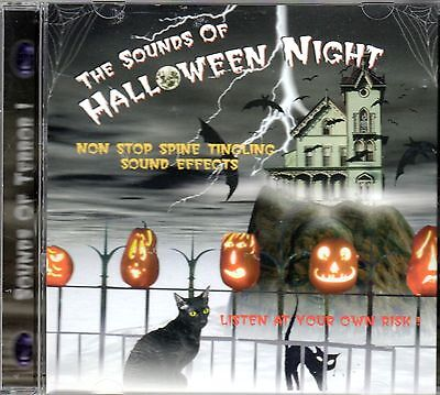 THE SOUNDS OF HALLOWEEN NIGHT: VINTAGE HAUNTED HOUSE OF TERROR SOUND EFFECTS - The Sounds Of Halloween