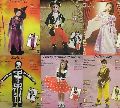Halloween Fasching Kostüm Kinder Karneval Overall Jungen/Mädchen Kleid Pirat - Jungen Mädchen Piraten Kostüm