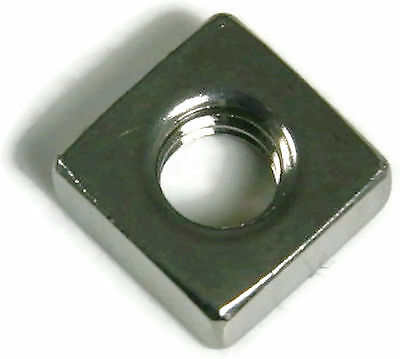 Stainless Steel Square Nuts Unc 14-20 Qty 100