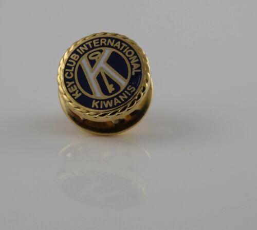 Lot of 2 Kiwanis Key Club International Tie Tac Badge Hat Lapel Pin Diameter 1cm