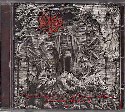BLOODY CROSS - forgotten hellish rituals from the.... CD (Bloody Cross)