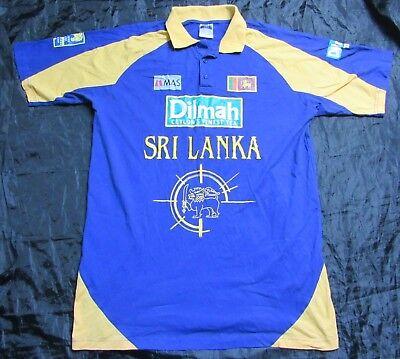 SRI LANKA Cricket Official shirt jersey MAS HOLDINGS Ceylon trikot adult SIZE XL image