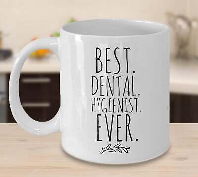 Dental Hygienist Gifts Best Dental Hygienist Ever Mug Gift For Women and Men