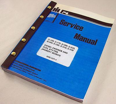 Ih Dresser Td7 100e 100 Series E Crawler Dozer Engine Service Repair Manual