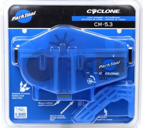 Park Tool CM-5.3 Cyclone Chain Scrubber Cleaner Machine for Road MTB eBike Bike