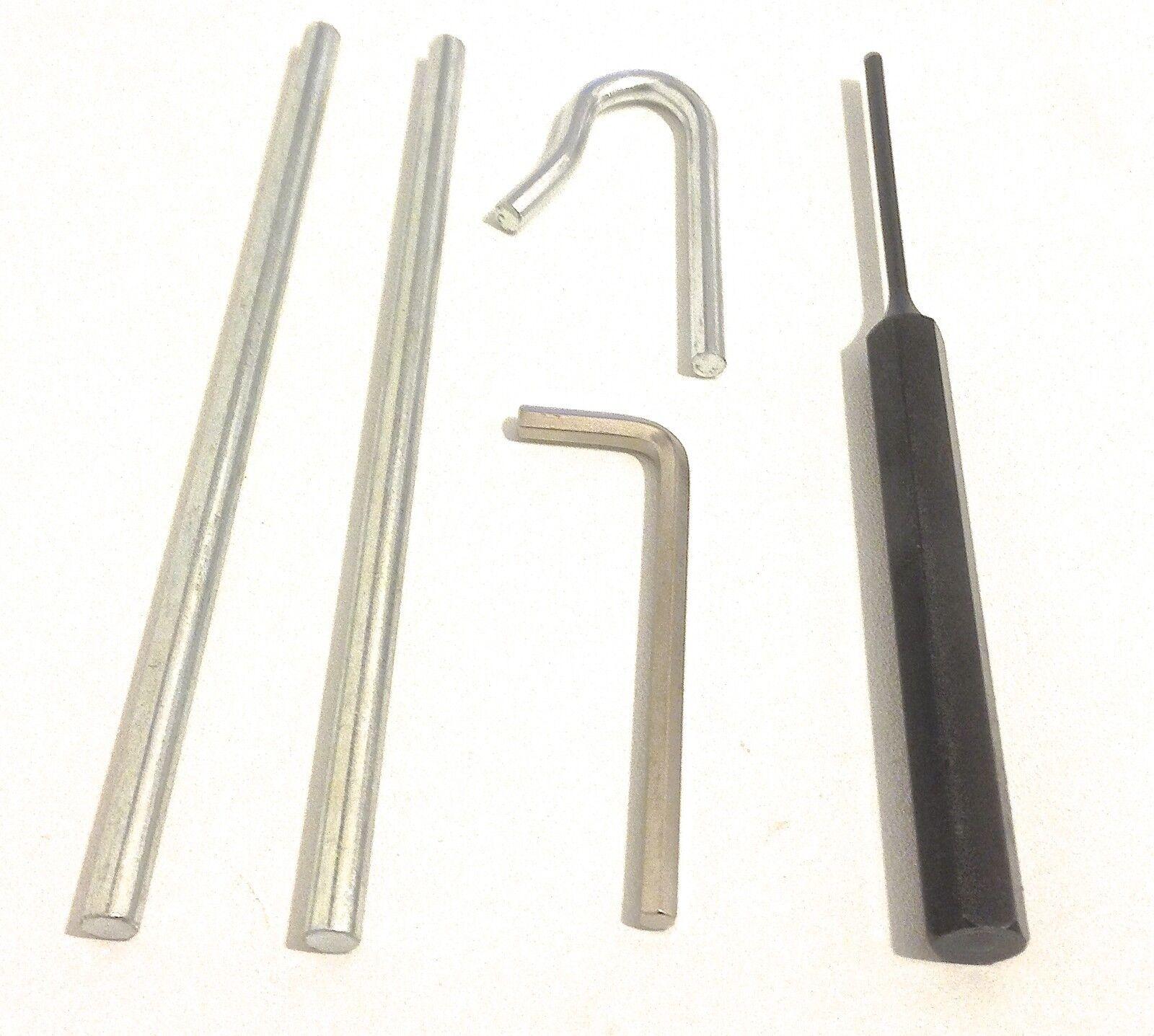 Henderson Merlin Garage Door Cones Cables Repair Tools 4mm