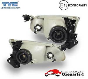 Toyota Camry 20 Series 1 97~99 Pair LH+RH Head Light Front Lamp Dandenong Greater Dandenong Preview