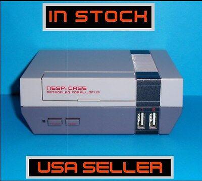 NESPI Retroflag NES Mini Case with Fan & Heat Sinks for Raspberry Pi 3, 2, & B+