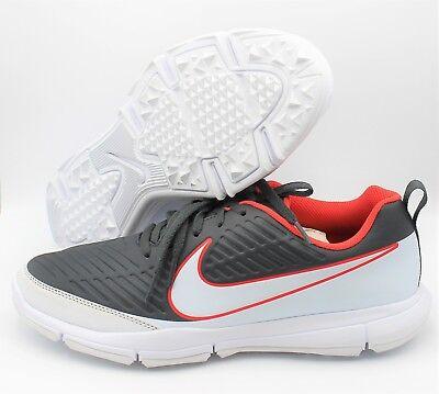 (NEW Nike Explorer 2 Men's Golf Shoes - Orange/White/Grey (Size 12))