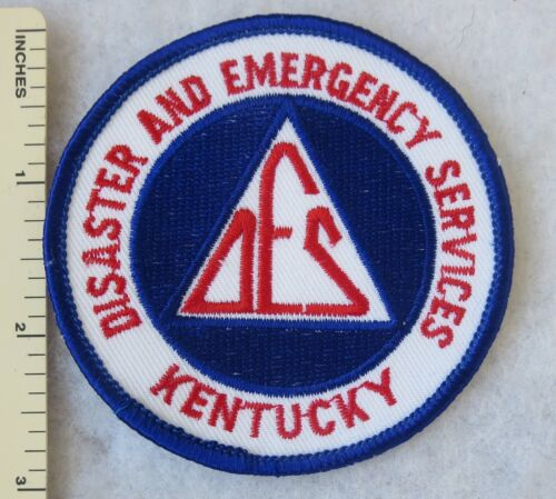 KENTUCKY DISASTER and EMERGENCY SERVICES DES PATCH Vintage ORIGINAL