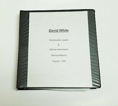 David White Surveying Instruments Parts List Diagrams Laser Levels Transit