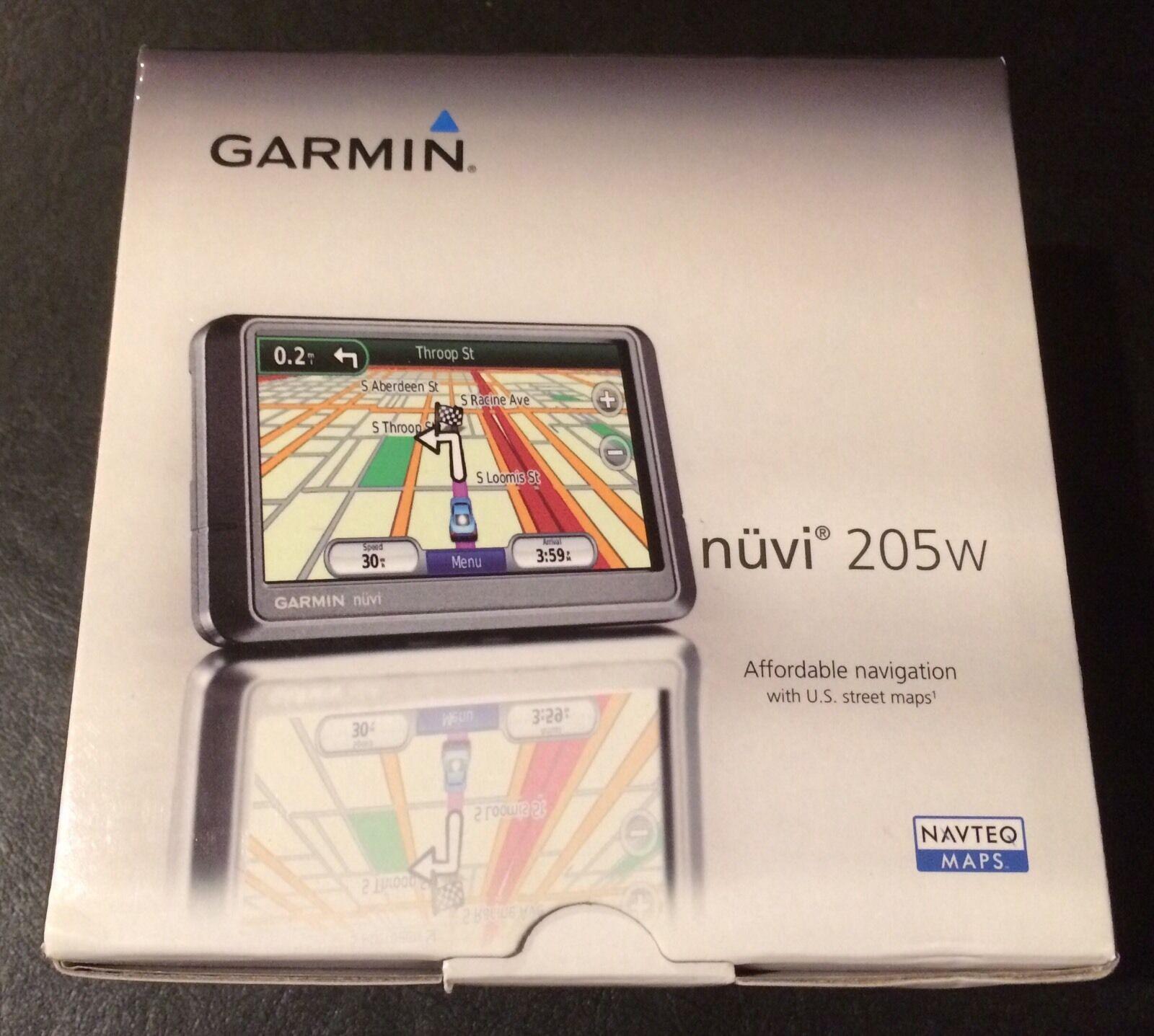 NEW IN BOX Garmin Nuvi 205 3.5-Inch Portable GPS Navigator