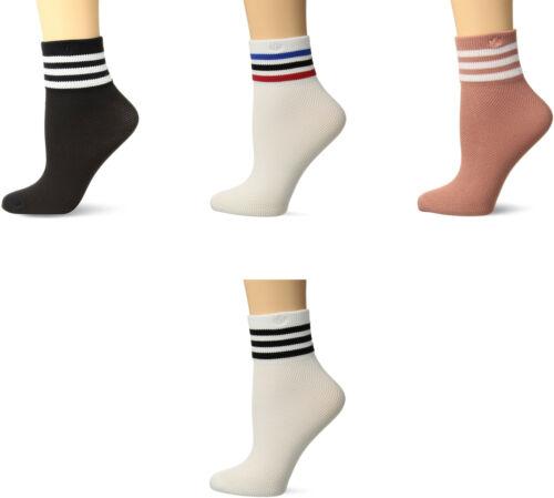 adidas Women's Originals Mesh Striped Ankle Single Quarter S