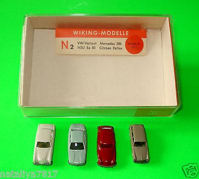 WIKING ### VW VARIANT - MERCEDES 280 - NSU RO 80 - CITROEN PALLAS ### 1:160 OVP