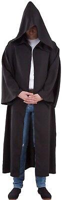 CAPE Black Hoodie Maître strength XL Costume Jedi Star Wars NEW Cheap