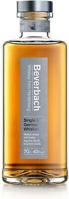 Beverbach Single Malt German Whiskey Whisky - 43% Vol./ 0,7 Liter