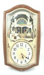 Seiko Musical Melodies in Motion Wall Clock QXM135BR