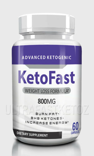 KETOFAST ADVANCED  WEIGHT LOSS 60 caps KETOSIS SUPPORT KETO FAST