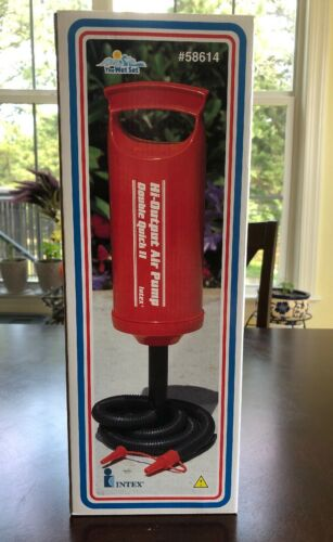 Intex Hi-Output Air Pump Double Quick II for Pool Toys Air M
