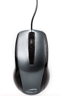 SPEEDLINK Relic Maus PS/2, black 800 dpi optische 3 Tasten Maus E10-061017