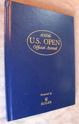 108th U.S. OPEN OFFICIAL ANNUAL by Rolex Torrey Pines Golf Course Tiger Woods