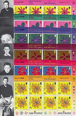 INSEL MAN - 2002 MUSIK PAUL MCCARTNEY MUSIC BLUMEN FLOWERS 978-83 KLEINBOGEN **