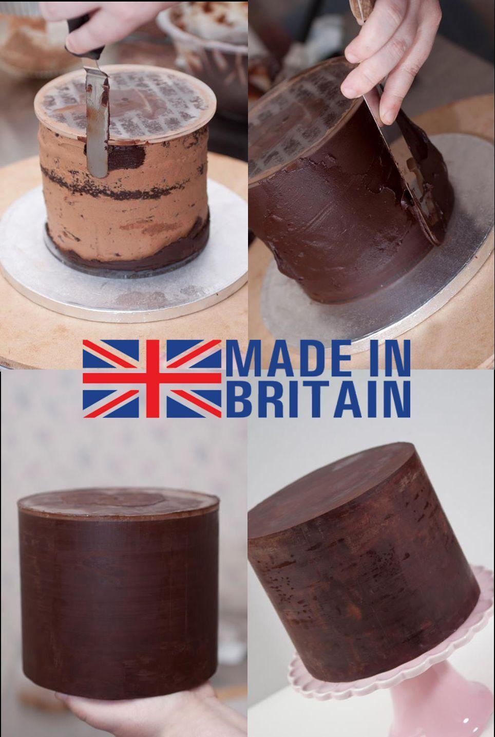 Scraper Ganache Buttercream acrylic smoother disc cake decorating **4 SIZES**