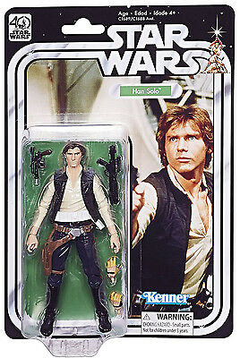 Han Solo STAR WARS Black Series 40th Anniversary ANH A NEW HOPE  6
