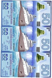 LOT-New-Jason-Islands-3-x-50-Australes-2012-POLYMER-UNC-Ship