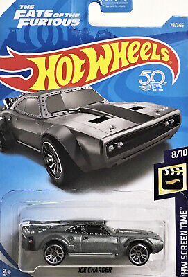 2018 - Hot Wheels - ICE CHARGER - Card #079 - Fate of the Furious - 50th