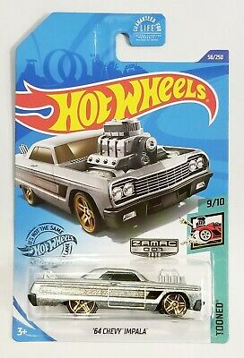 Hot Wheels 2020 ZAMAC '64 Chevy Impala Tooned 9/10 #58/250