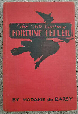 The 20th CENTURY FORTUNE TELLER Madame de Barsy 1901 Witch Oracle HALLOWEEN Rare