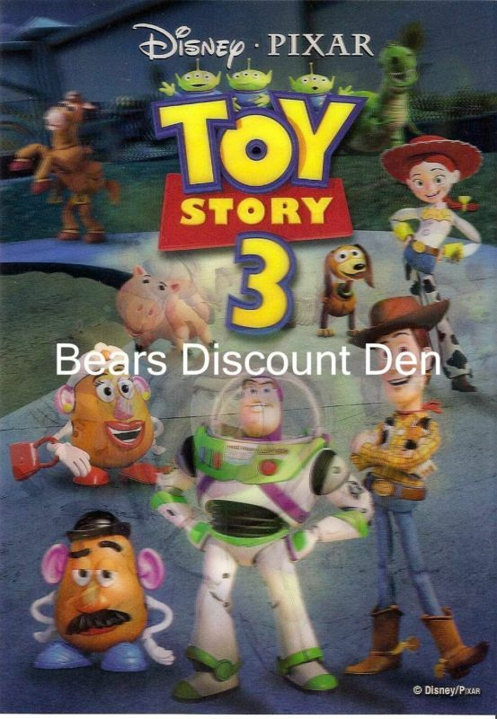 disney - TOY STORY 3 Lenticular Collector