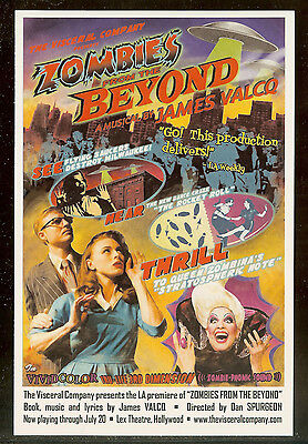 Zombies From The Beyond   James Valcq   Visceral  La Premier   Rack   Lobby Card