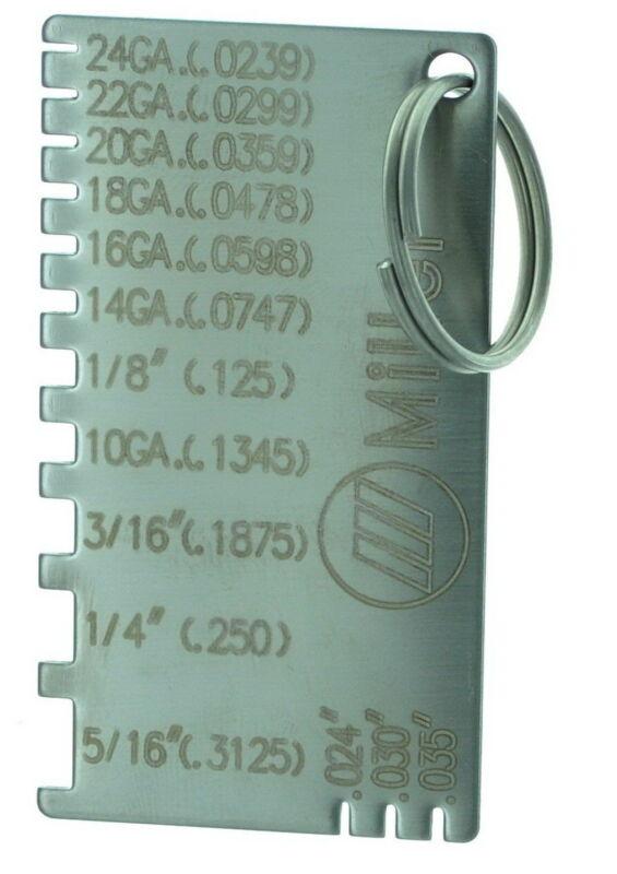 MILLER 229895  GAUGE,WIRE & METAL SIZES