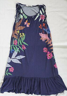 H&M HundM Maxikleid Dress Maxi Kleid für Mädchen Hippie Look Retro 134 / 140