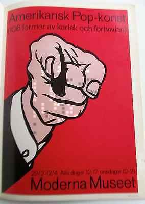 Roy Lichtenstein Poster Amerikansk Pop-Modern Museet  Poster You Did It PP