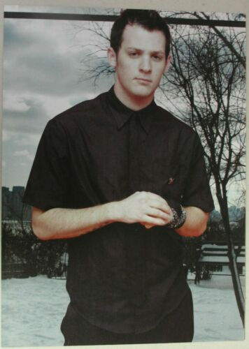 GOOD CHARLOTTE Full Page Pinup magazine clipping JOEL MADDEN