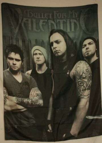 """Bullet for my Valentine BFMV Band/Group Photo Cloth Fabric Poster Flag 30"""" x 40"""""""